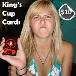 King's Cup Cards
